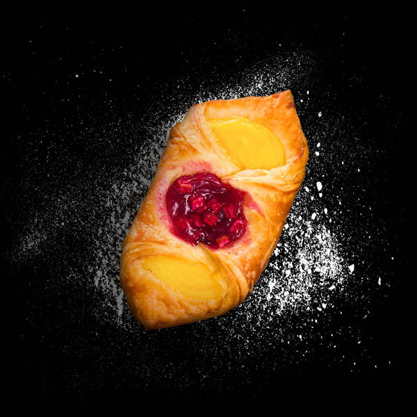 Raspberry & Custard Danish